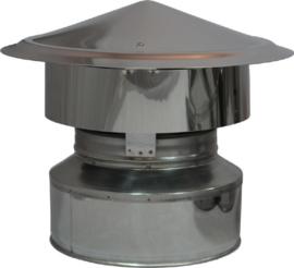 DW200/250mm Valwindtrekkap - Zwart