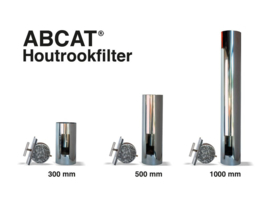 Abcat houtrookfilter diameter 125mm