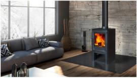 Hi-Flame AME R5LS (hoog) 5 kW mat zwart