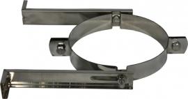 EW/Ø350mm muurbeugel rvs  #DH129657