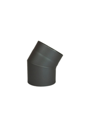 EW/150 Bocht 45 graden Kleur: antraciet #DUN600006