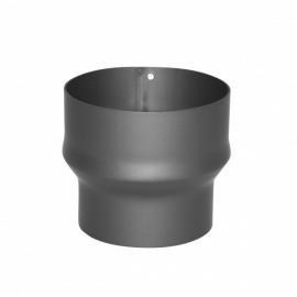 Verloopstuk 2mm gelast staal 149-180 TT331904 ( Grijs )