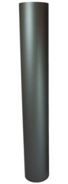 EW/120mm Kachelpijp 100cm zonder verjongen Kleur: Antraciet
