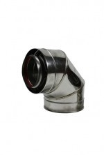 Holetherm concentrisch bocht 87-90° graden Ø100-150mm DH126108