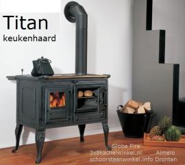 Titan 6-8 kW Keukenhaard