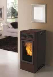 InnoFire Globefire Billy pelletkachel Bordeauxrood 6.5 kW voor €  749,=