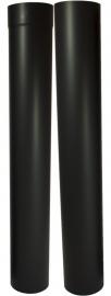 EW/Ø150mm Paspijp Set 105-195cm zonder verjonging Kleur: zwart #DUN600011