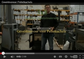 Video's uitleg instructie  Pelletkachelpijpen