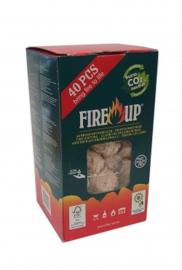 Fire-up aanmaakbriketjes 1x doosje 129/75