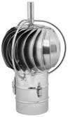 TURBOWENT Draaikap 150mm met draailager buiten de kap #WN-TUZ150CHCH-B