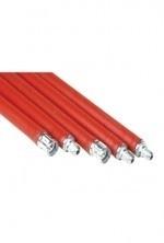 Flexibele veegstok met schroefdraad 100cm DHZ (rood) #657000