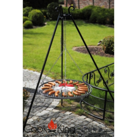 Tripod met Grill rooster - 50cm