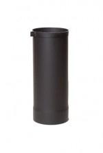 EW/Ø250 2mm Paspijp 40cm met stelring (Kleur: Zwart)