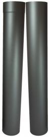 EW/Ø150mm Paspijp set 105-195cm zonder verjonging Kleur: Antraciet #DUN600011ZV