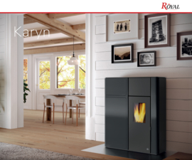 Royal Karyn pelletkachel 9 kW of 12 kW