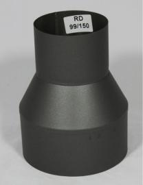 Verloopstuk 099 - 150 (Zwart )
