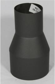 Verloopstuk Isotube Staal (Zwart en Grijs)