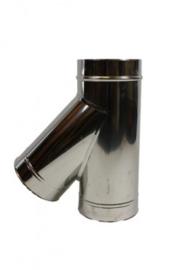 IsotubePlus Ø150/200 T-stuk 45graden met dop