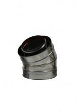 Holetherm concentrisch bocht 30° graden Ø100-150mm DH126105