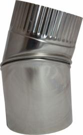 Thermokrimp Ek Ø110mm  - Bocht 45°  verstelbaar #EK110011V