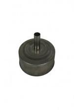 EW Ø150mm Losse deksel met kondens-afvoer RVS #DH129127k