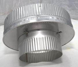 ISOTUBE Plus 5cm isolatie DWØ150-250mm Onderaansluitstuk met krimprand CAM-EX51-3