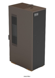 Artel Mini pelletkachel 1 - 5 kW BRONS