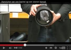 Video's uitleg instructie Stenen schoorsteenkanaal