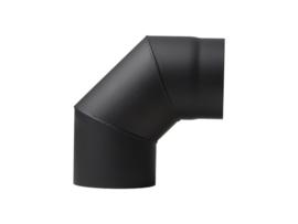 EW/150 2mm Segment bocht 90 graden (Kleur: Zwart)
