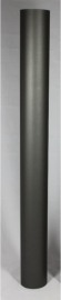 EW/Ø150mm Kachelpijp 100cm zonder verjonging Kleur: zwart #DUN600105