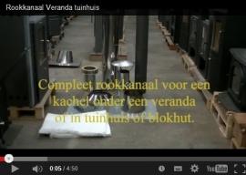Video's uitleg instructie kanaal voor Veranda of Tuinhuis