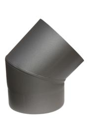 EW/100 Bocht 45 graden Kleur: antraciet #DUN700006