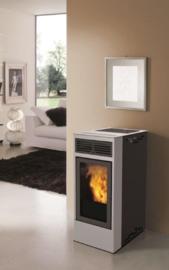 InnoFire Globefire Billy pelletkachel 6.5 kW Grijs voor € 749,=