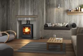 Hi-Flame AME R5L houtkachel 5 kW mat zwart