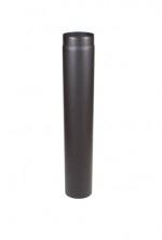 Enkelwandige  Ø180mm 2MM staal pijp ZWART