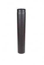 EW/Ø250 2mm Pijp 100cm (Kleur: Zwart)