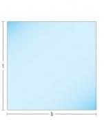 Kachelvloerplaat vierkant met facet 900 x 900 x 6