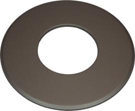 EW/180 Rozet groot 9cm (Kleur: Zwart) #TER18-620