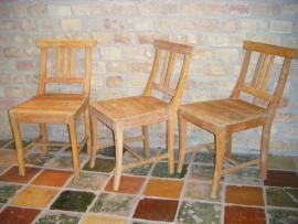 Prachtige antieke Zweedse  stoelen