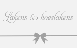Lakens & hoeslakens