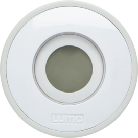 Badthermometer digitaal light grey