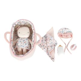 Babypop rosa met accesoires