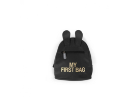 Kids my first bag zwart/goud