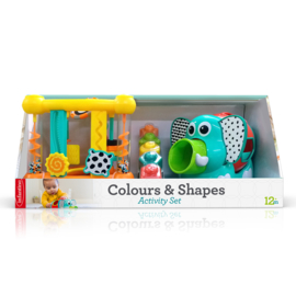 Colours&shapes activity set