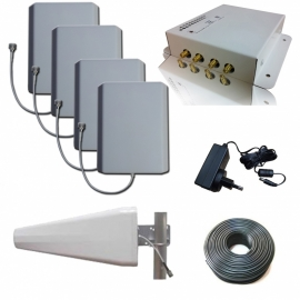 3G Booster for your Office | Office2100 Repeater Kit