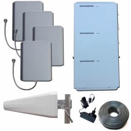 Tri band booster for your Office | Office provides mobile coverage in your office
