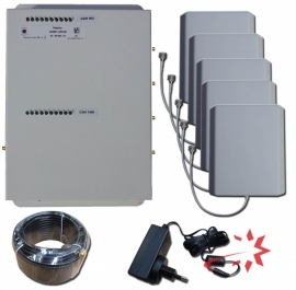 Office dual band 900 & 2100 Mhz. Repeater Kit
