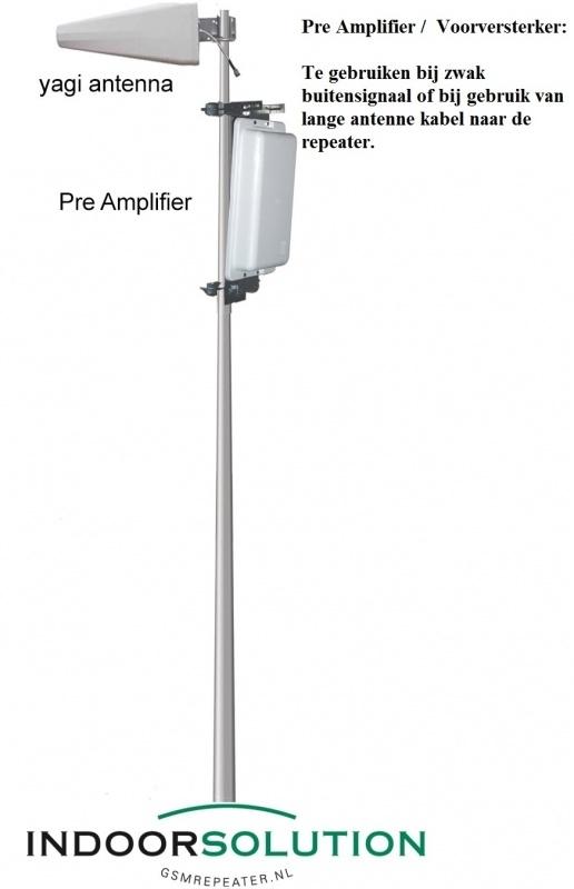 Pre Amplifier (Voorversterker)