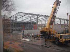 Nieuwbouw bedrijfspand aan de Stranwei te Makkum
