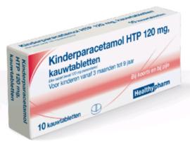 Kinderparacetamol 120 mg. 10 st.